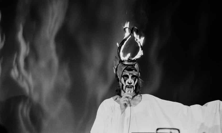 Arthur Brown performs on Top of the Pops in 1968.