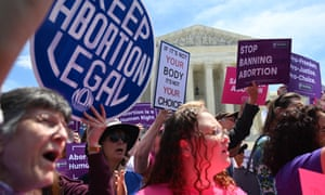 Abortion protests in US