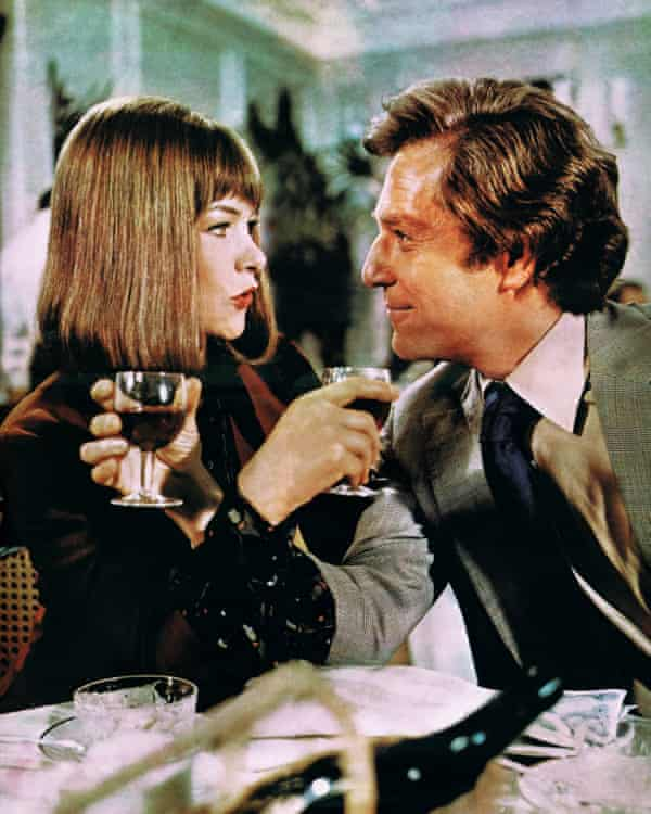 Segal and Glenda Jackson in A Touch of Class.