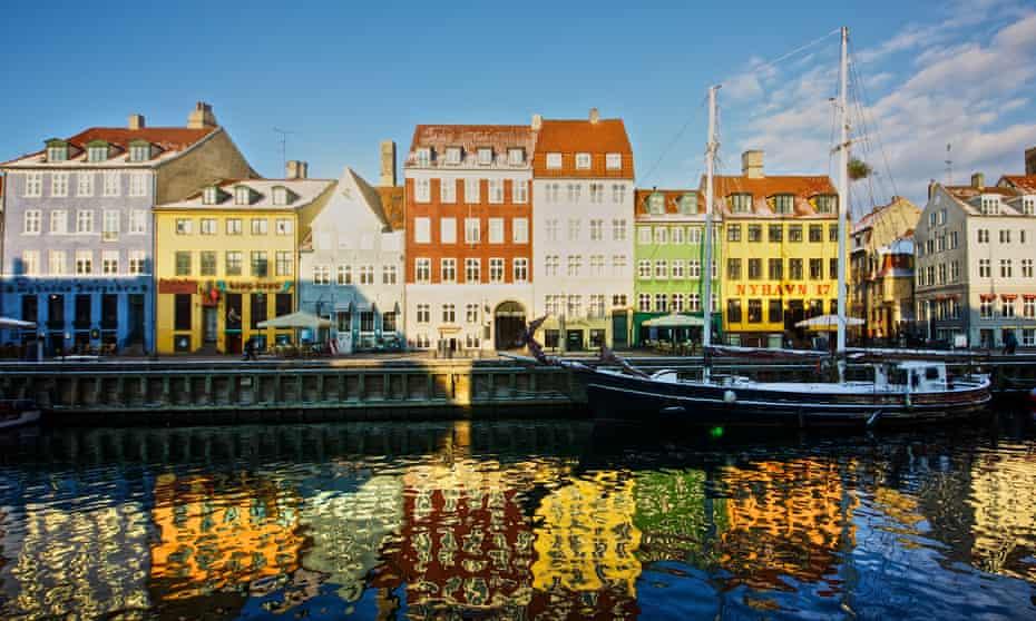 Nyhavn, a 17th-century waterfront in Copenhagen.