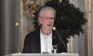 Austrian author Peter Handke