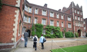 The halls of residence at Jesus College