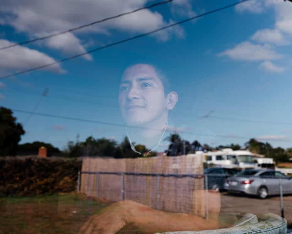 Juan Antonio poses for a portrait.