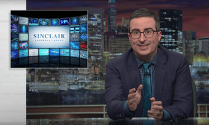 John Oliver: 'Sinclair can sometimes dictate the content of your local newscasts.'