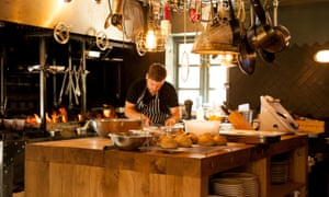 Kitchen at the Mash Inn, Radnage