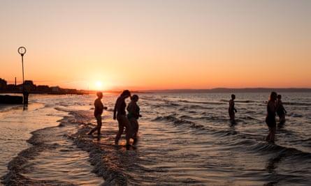 Portobello Beach is only a few miles from the centre of the capital, Edinburgh, Scotland.