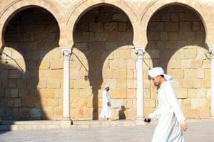 Al-Zaytuna mosque in Tunis, Tunisia