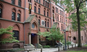 Lawrance Hall, the dormitory where Deborah Ramirez says Kavanaugh exposed himself to her when she was a first-year student in the 1980s.