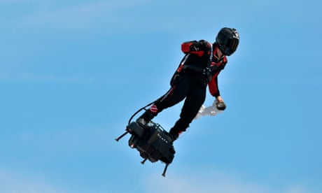 French inventor to attempt to cross Channel on jet-powered flyboard