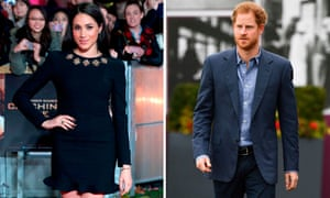 Prince Harry and his US actor girlfriend, Meghan Markle