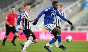 Despite Scott Wilson's late equaliser, Macclesfield lost on penalties to Newcastle's under-21 side.