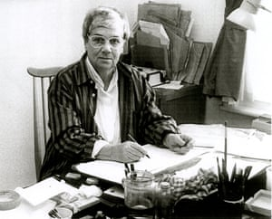Peggy Fortnum at work in the 1980s.