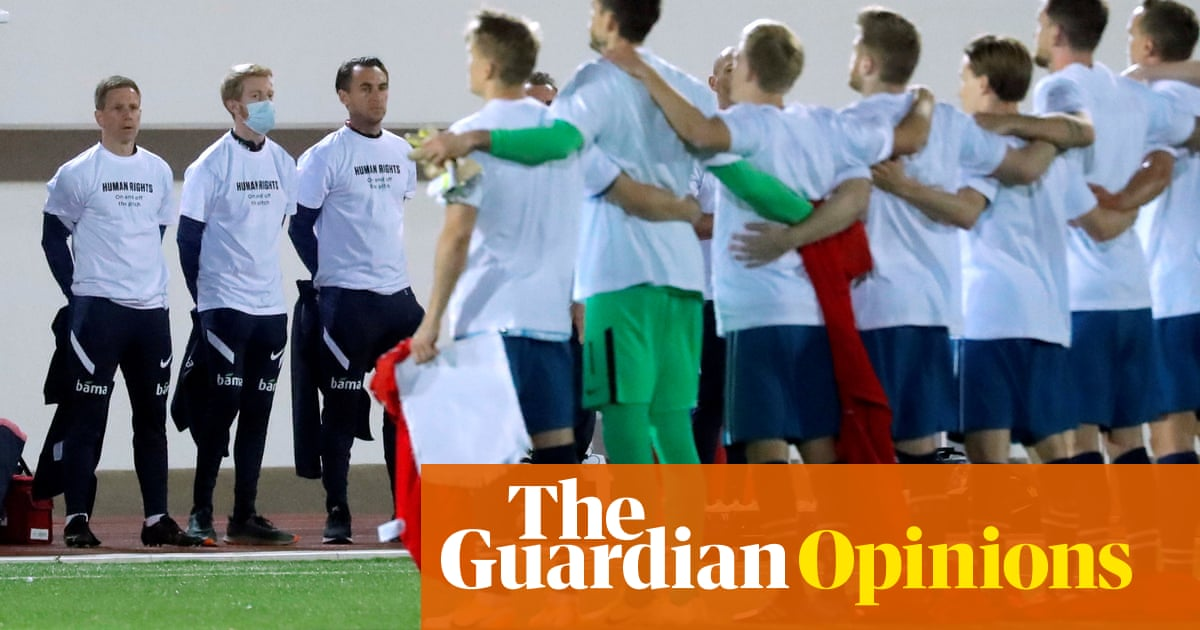 When it comes to the Qatar World Cup, look north to find a moral compass