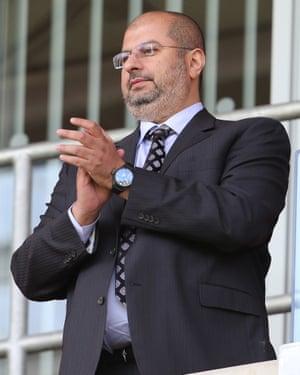 Sheffield United co-owner Prince Abdullah bin Mossad Bin Abdulaziz al-Saud
