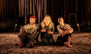 Ragevan Vasan, Rachel Merry and Emily Stott.