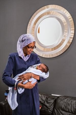 Myranda Majid, a community support specialist at Birthing Beautiful Communities.