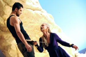 Helen Mirren and Dominic Cooper in Phedre at the Lyttelton in 2009