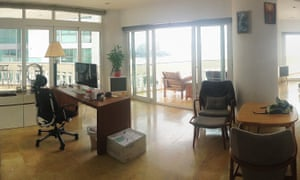 The Thailand apartment of Gui Minhai who has 'disappeared' from Thailand.