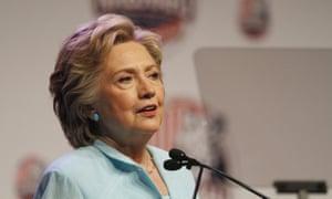 Clinton at NABJ and NAHJ