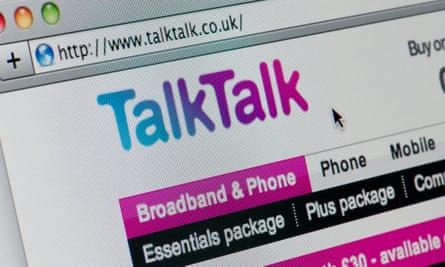TalkTalk website