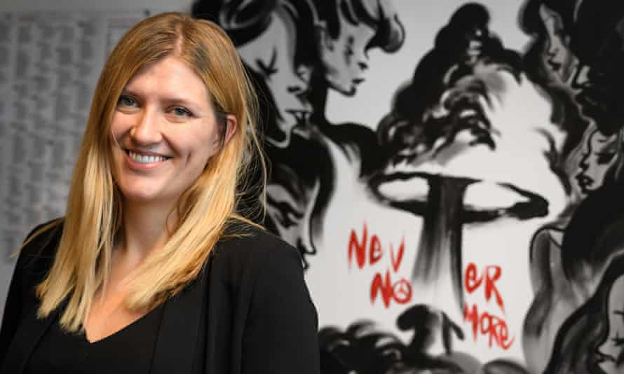 Beatrice Fihn, executive director of the Nobel peace prize-winning International Campaign to Abolish Nuclear Weapons.