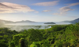 The Indian Ocean island of Mayotte