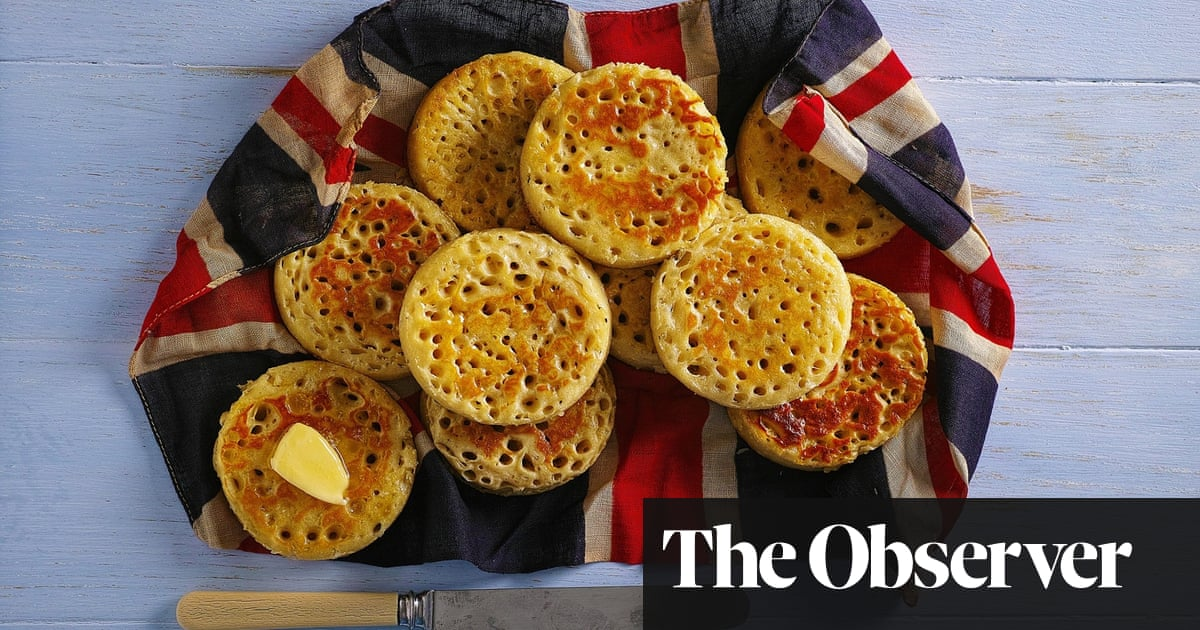 Sick of cooking for yourself? Have a crumpet