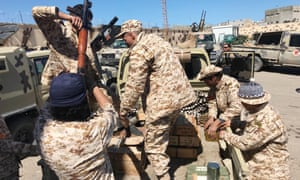 Libyan government forces prepare for an operation against Khalifa Haftar's troops in Tripoli