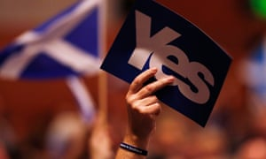 The Scottish independence referendum in 2014