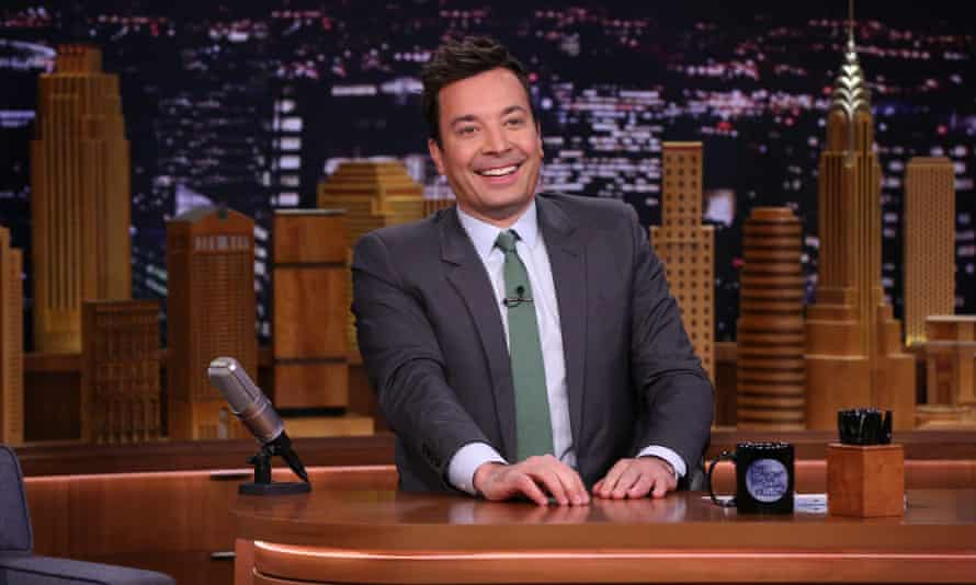 TikTok has been popularised in the US by the late-night comedian Jimmy Fallon.