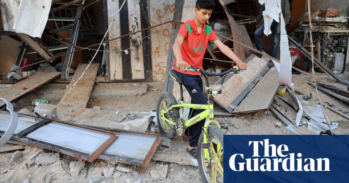 Pause after call for de-escalation raises hopes of Israel-Gaza ceasefire