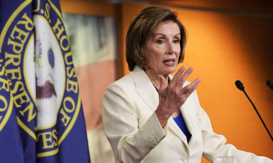 Pelosi said on the call she was holding out hope that Senate Democrats could persuade Manchin to extend his support.