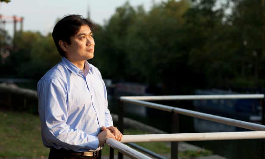 Joi Ito in 2009. A godson of Timothy Leary and a college drop-out, Ito would eventually lead the Media Lab.