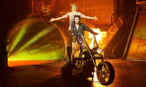 Andrew Polec and Christina Bennington in Bat Out of Hell
