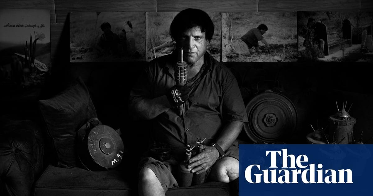 'I think about everyone I save': the mine clearance hero of Kurdistan