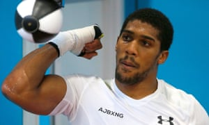 anthony joshua slackens timekeeping after 200 rounds of sparring