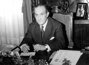 Javier de Ybarra y Bergé, kidnapped and murdered in 1977.