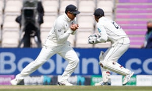 in safe hands: Ross Taylor takes a catch to dismiss Ravichandran Ashwin off the bowling of Trent Boult.