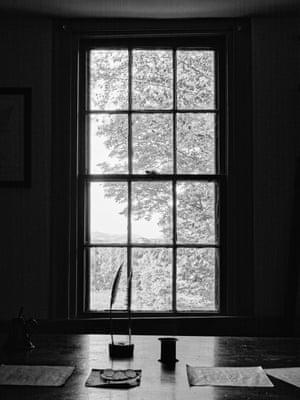 Melville's desk at Arrowhead