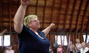 Becky Fischer in the 2006 documentary Jesus Camp.