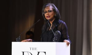 Anita Hill at the 10th annual DVF awards at the Brooklyn Museum on 11 April.