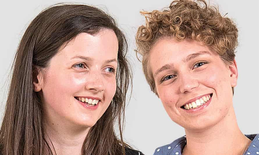 Laura, left, and Rosie.