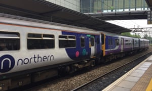Northern cancelled about 80 train services on Sunday.