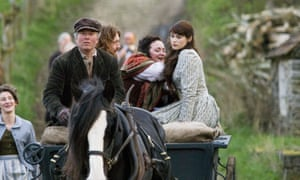 Gemma Arterton (right) in the 2008 BBC adaptation of Tess of the d'Urbervilles