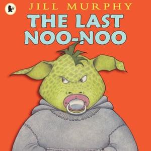 Marlon has no intention of giving up his dummy in Jill Murphy's The Last Noo Noo