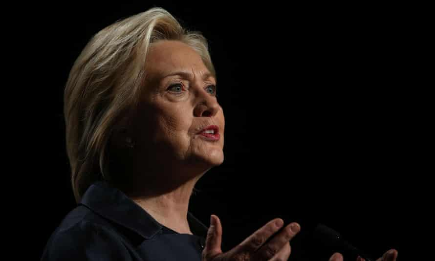 Hillary Clinton said Congress should pass legislation keeping guns from criminals and the mentally ill. 'The politics on this issue have been poisoned but we can't give up.'