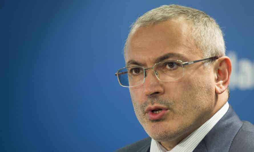 Mikhail Khodorkovsky, formerly Russia's richest man