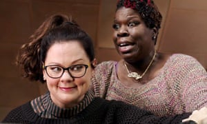 Melissa McCarthy and Leslie Jones<br>USA. Melissa McCarthy and Leslie Jones in ©Columbia Pictures new movie: Ghostbusters (2016).  Ref: LMK110-60060-040316 Supplied by LMKMEDIA. Editorial Only. Landmark Media is not the copyright owner of these Film or TV stills but provides a service only for recognised Media outlets. pictures@lmkmedia.com