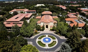 Stanford University's campus. The university has drawn scrutiny amid a series of sexual misconduct controversies.