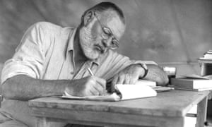 Hemingway, pictured in 1952.